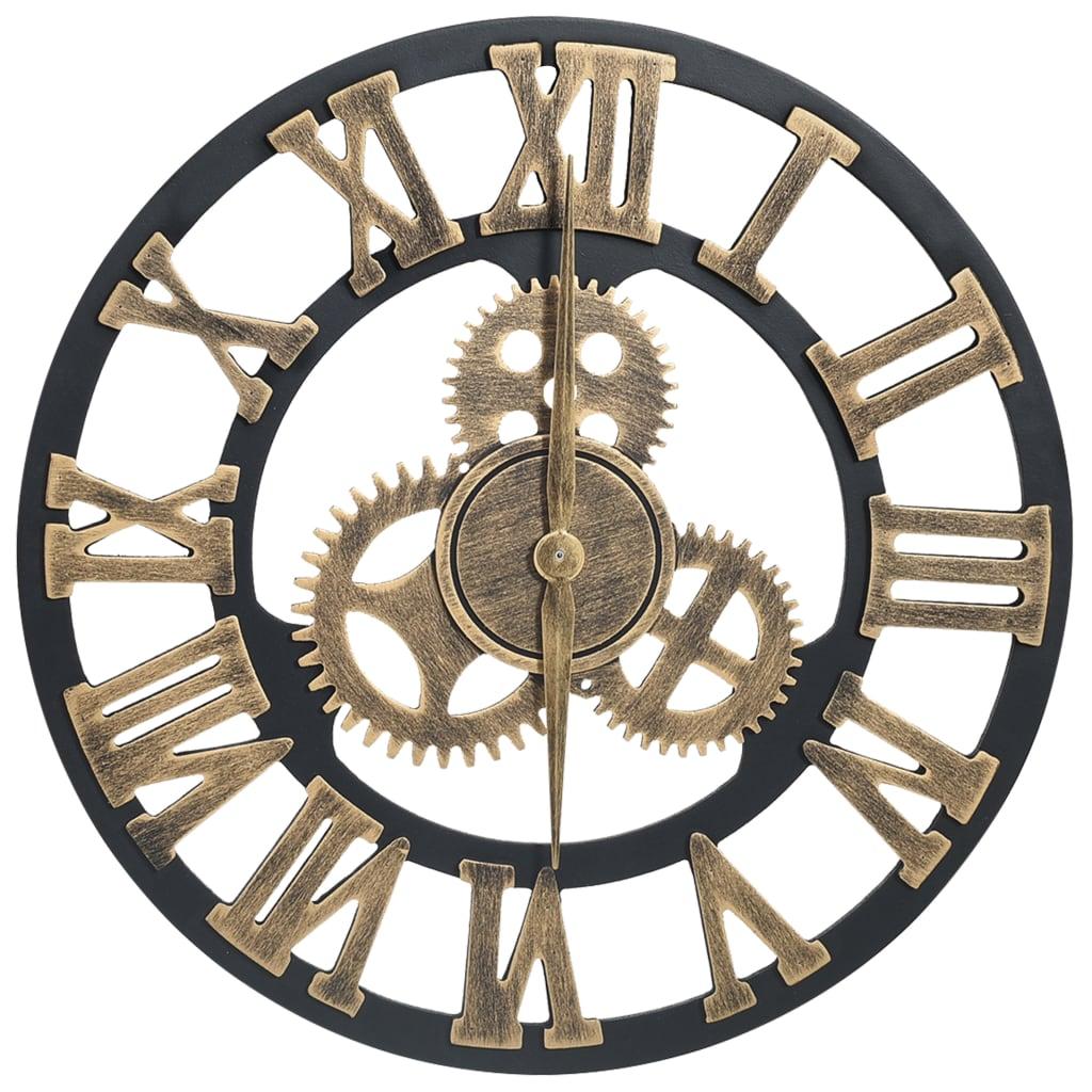 Horloge murale Rouaget 45cm Doré et noir