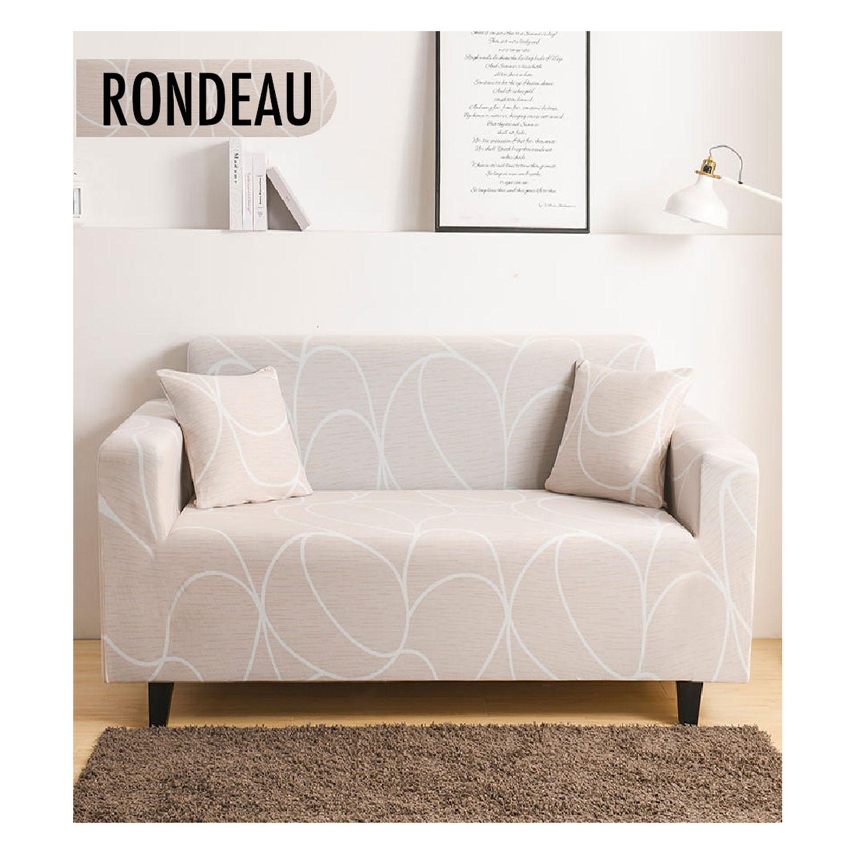 Housse de fauteuil extensible Decoprotect 1 place Rondeau