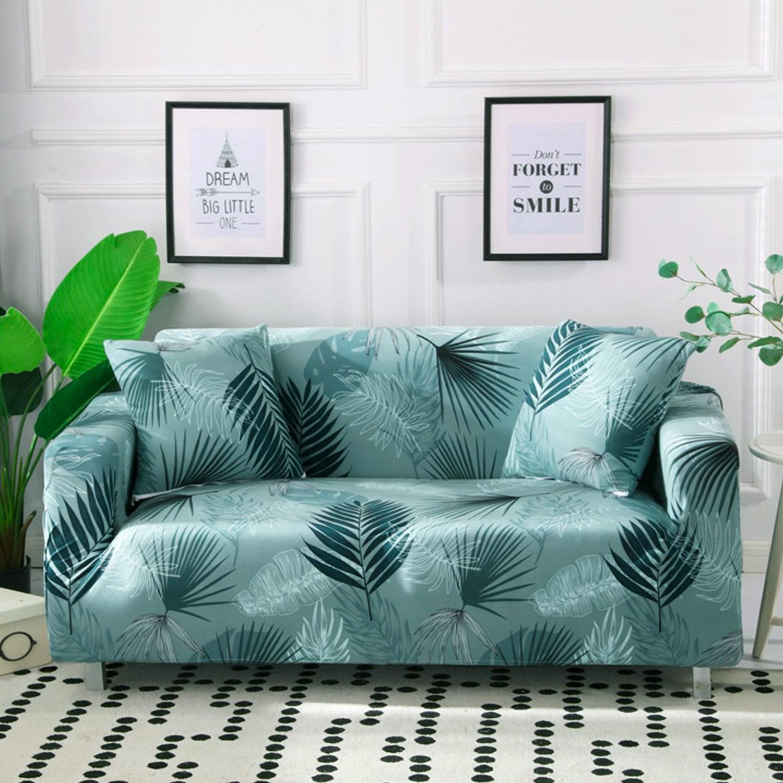Housse de fauteuil extensible Decoprotect Fleur 1 place Ariella