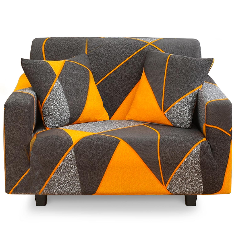 Housse de fauteuil extensible Decoprotect Géométrique 1 place Thales