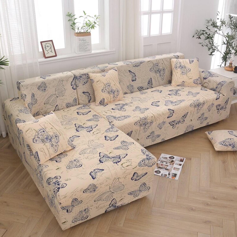 Housse de fauteuil extensible Decoprotect Nature 1 place Anastasia