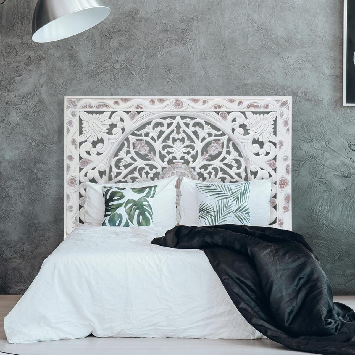 Tête de lit Koutoubia 160cm Blanc