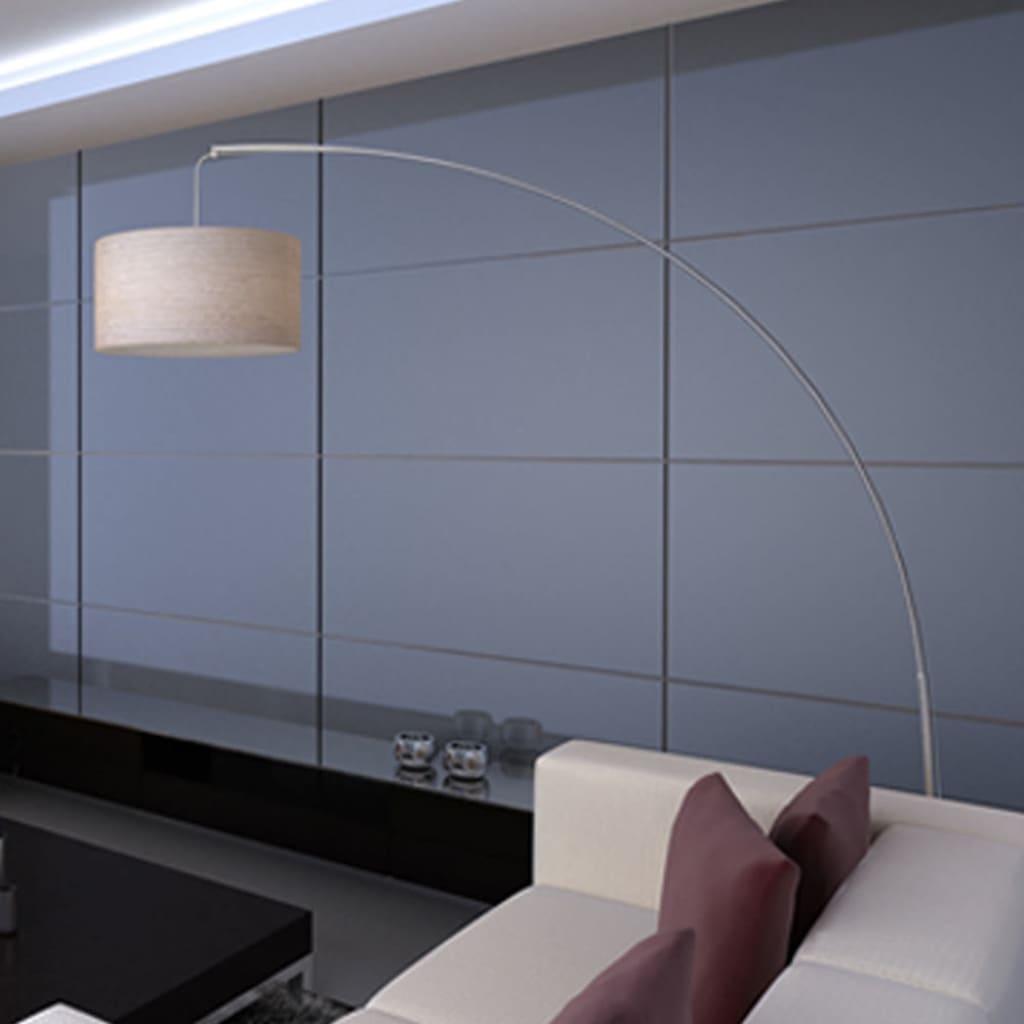 Lampadaire réglable Lineal 192cm Beige