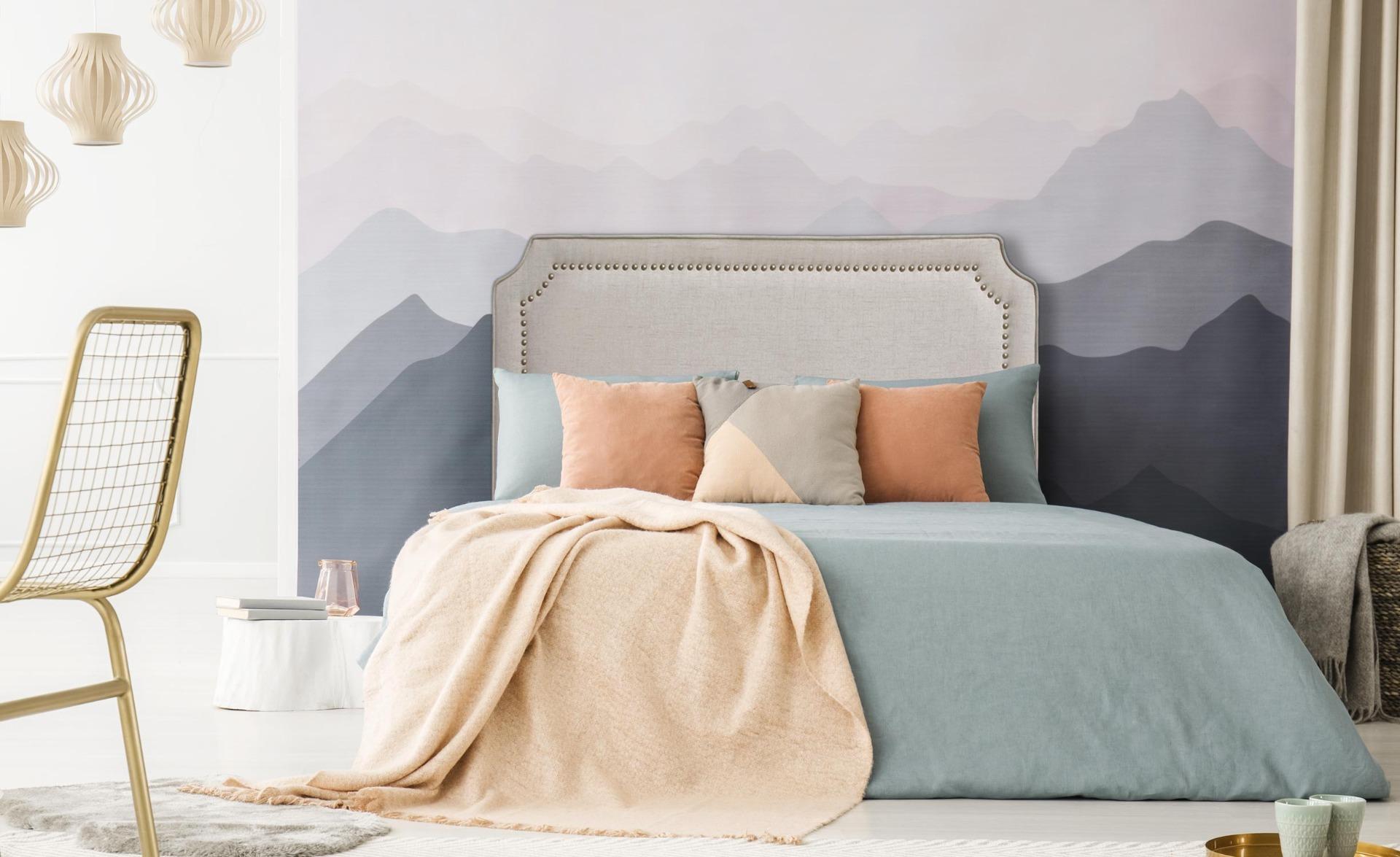 Tête de lit Milana 160cm Tissu Beige