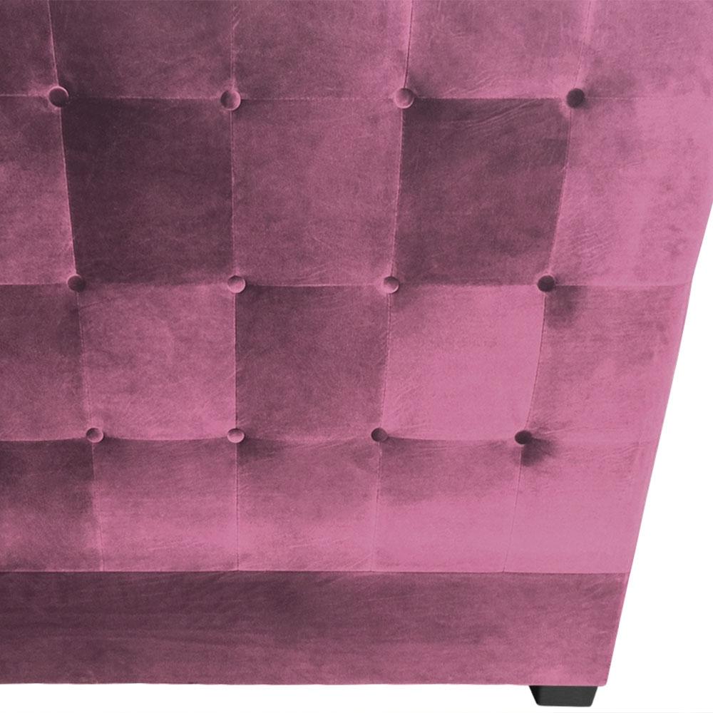 Tête de lit Luxor 160cm Velours Violet