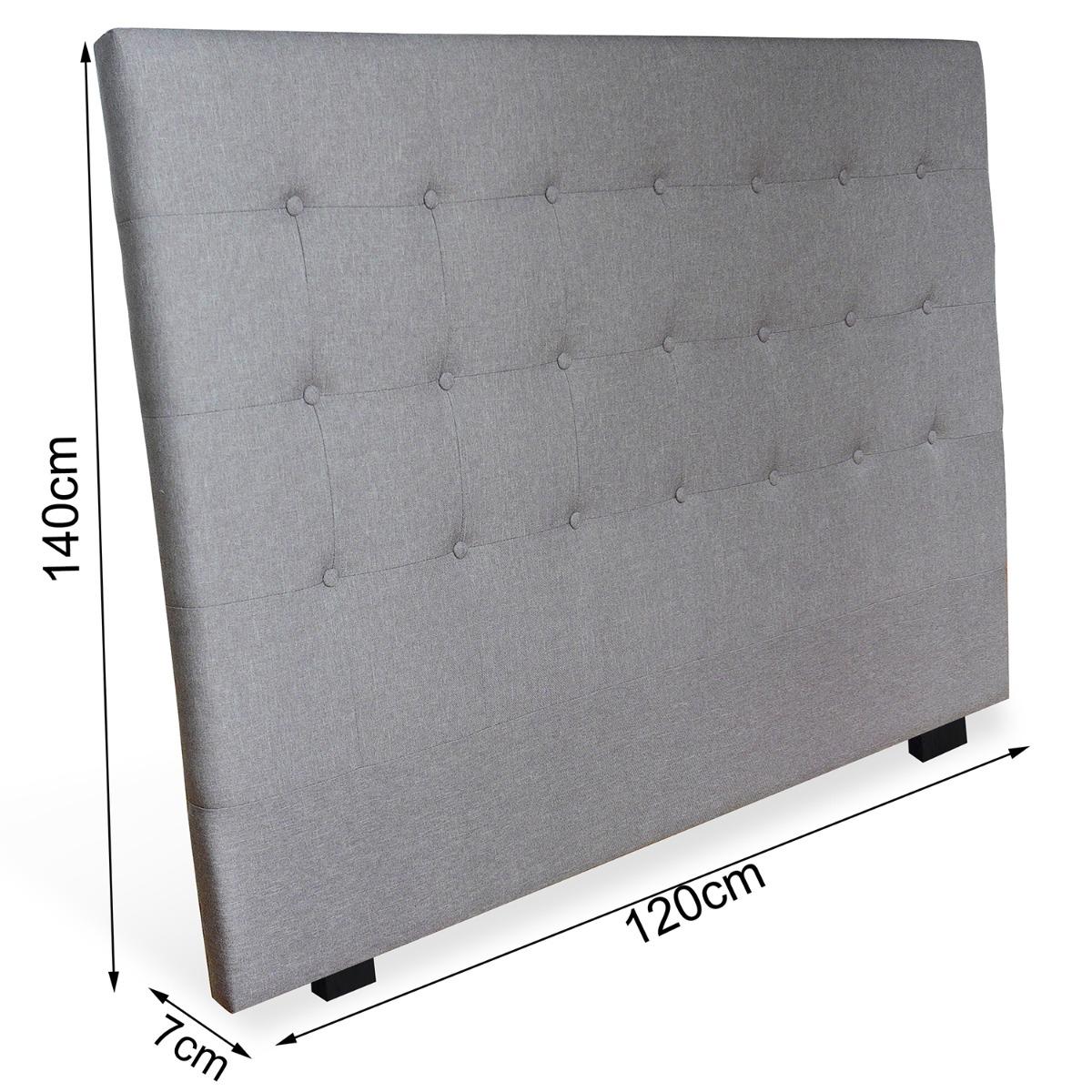 Tête de lit Luxor 160cm Noir