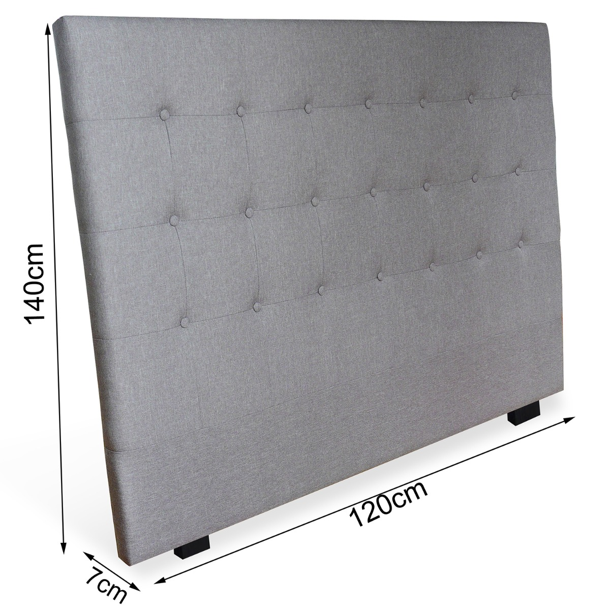 Tête de lit Luxor 160cm Blanc