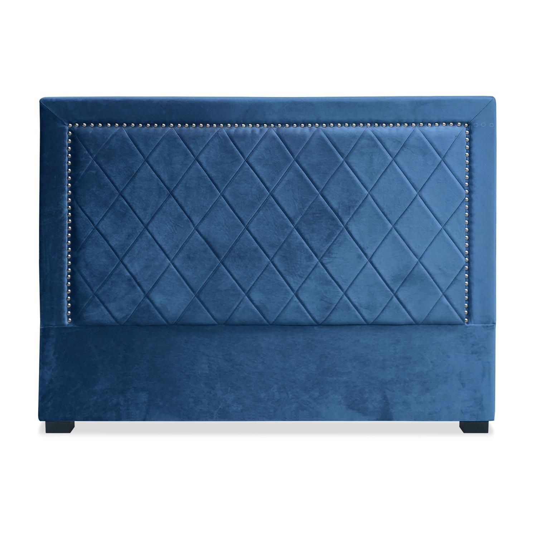 Tête de lit Meghan 160cm Velours Bleu