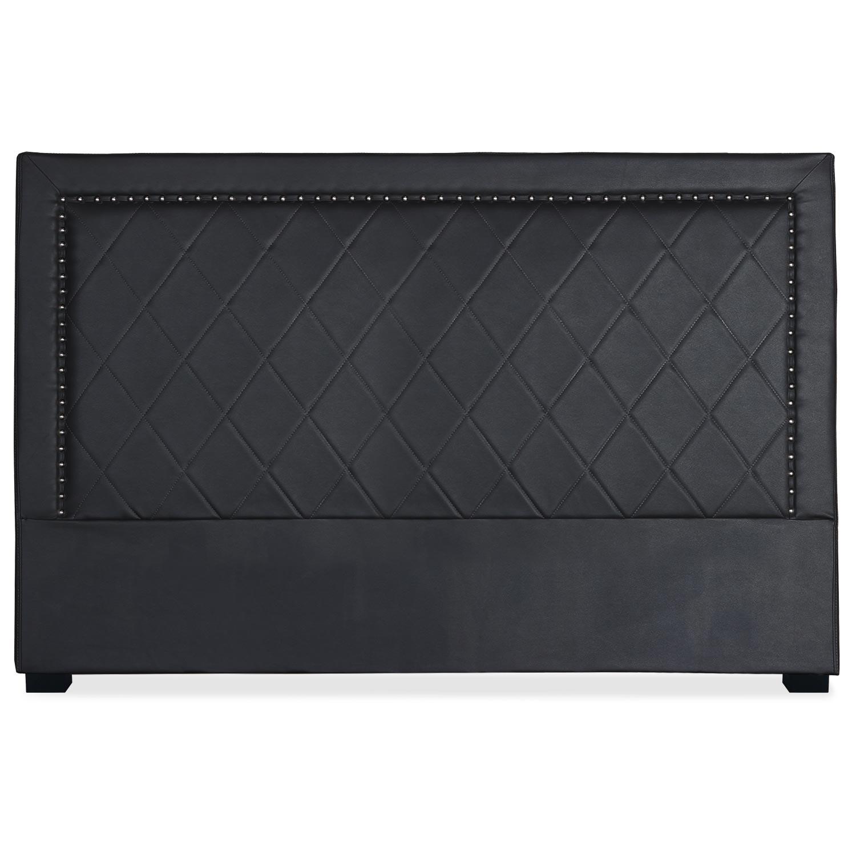 Tête de lit Meghan 180cm Simili P.U. Noir