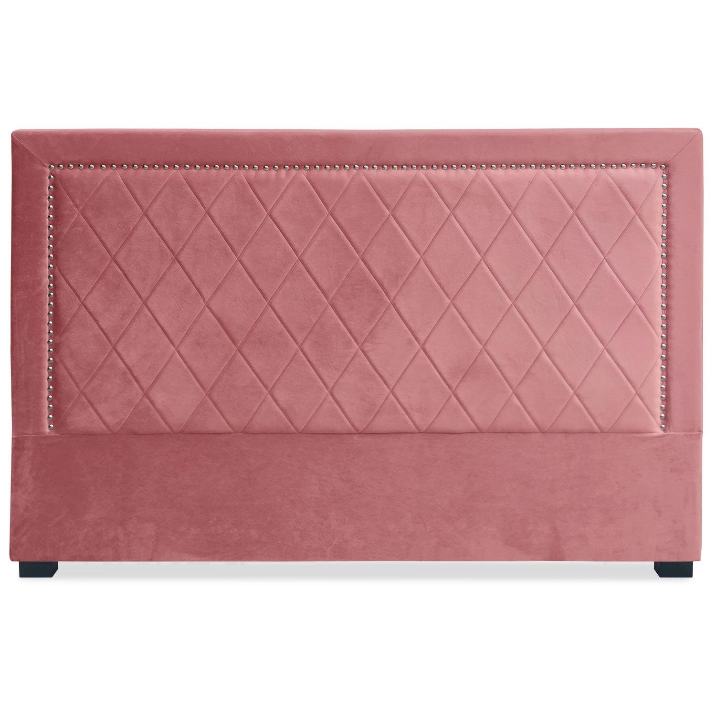 Tête de lit Meghan 180cm Velours rose