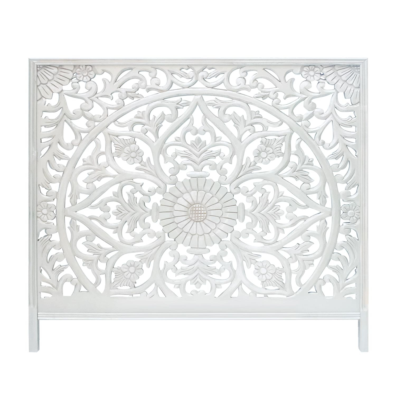 Tête de lit Menara 160cm Bois Blanc
