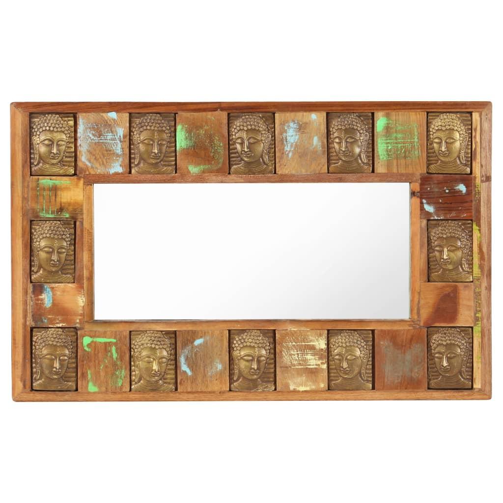 Miroir horizontal Mumbai 50x80cm Bois