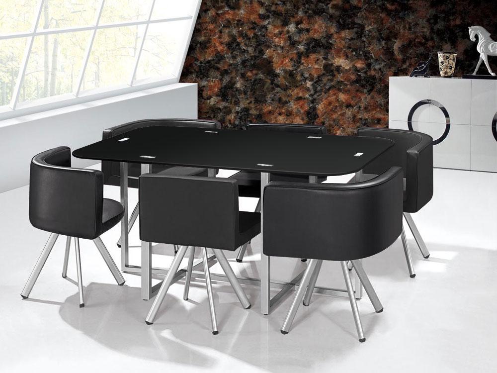 Table Mosaic XL Noir
