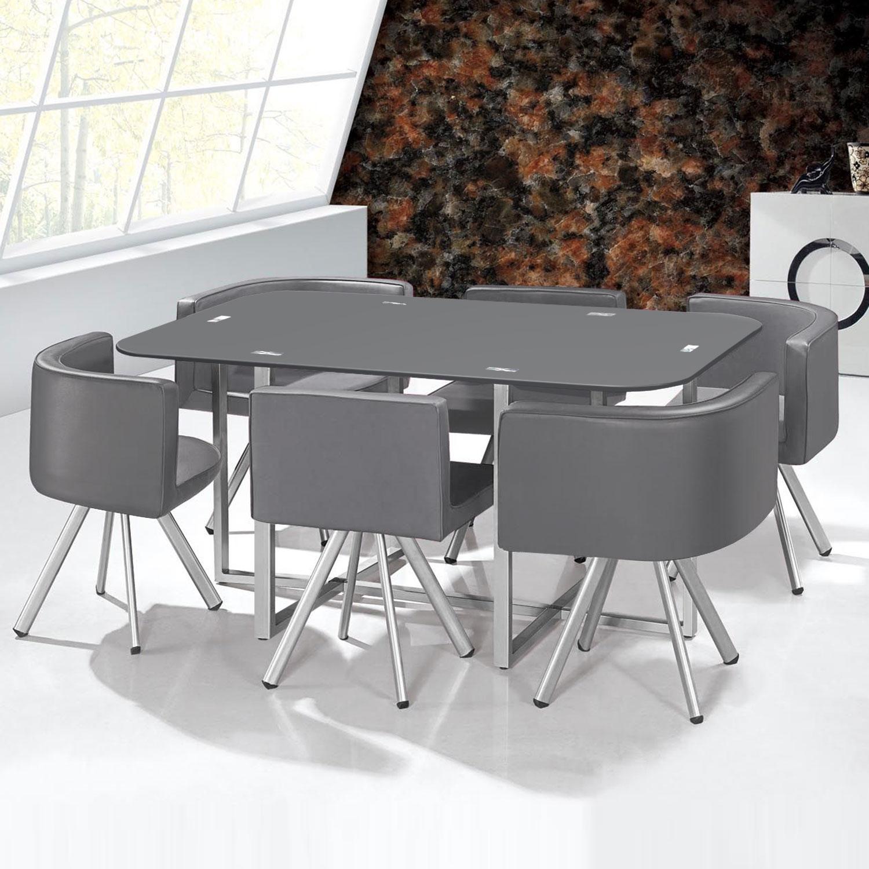 Table Mosaic XL Gris