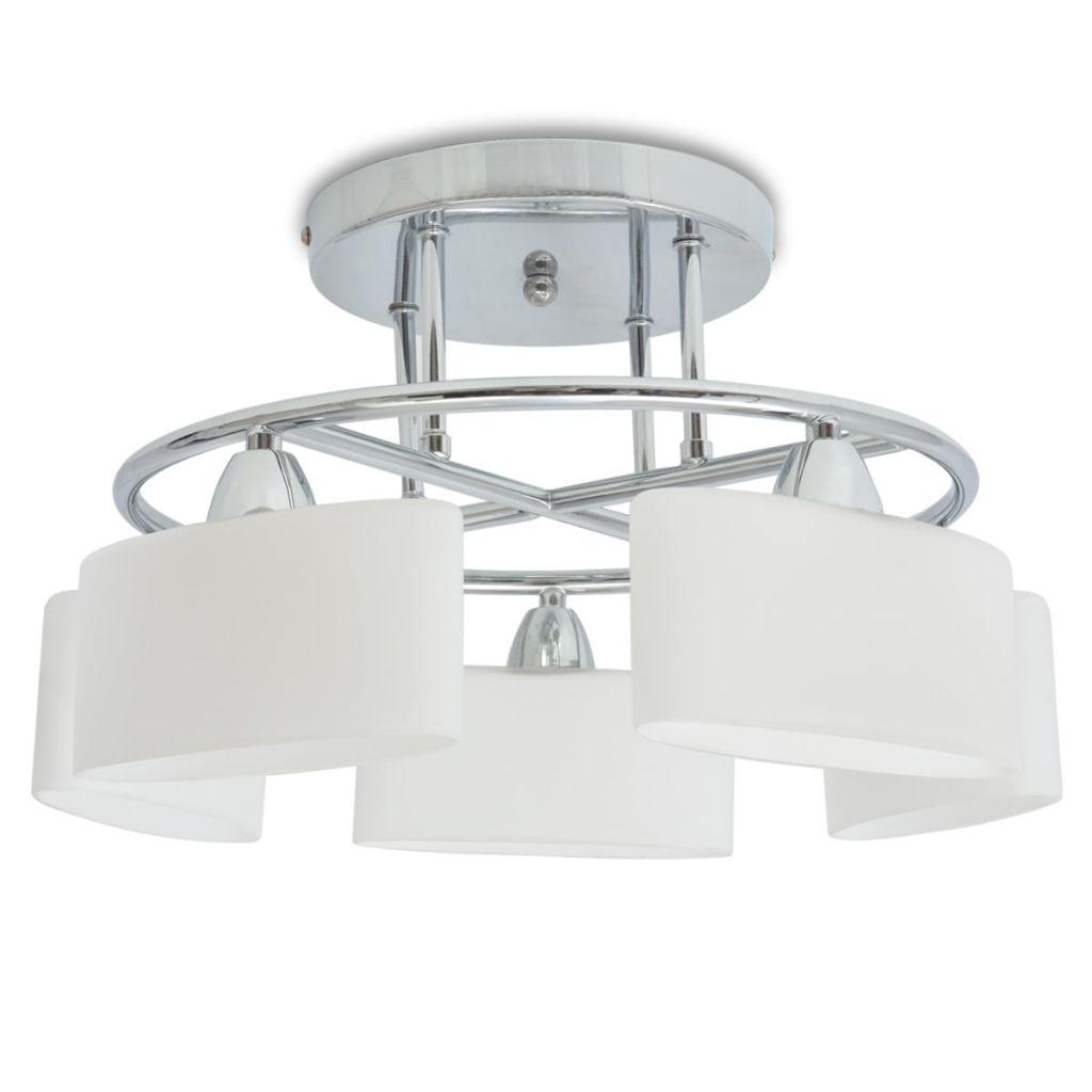 Plafonnier 5 lumières Ioko Blanc