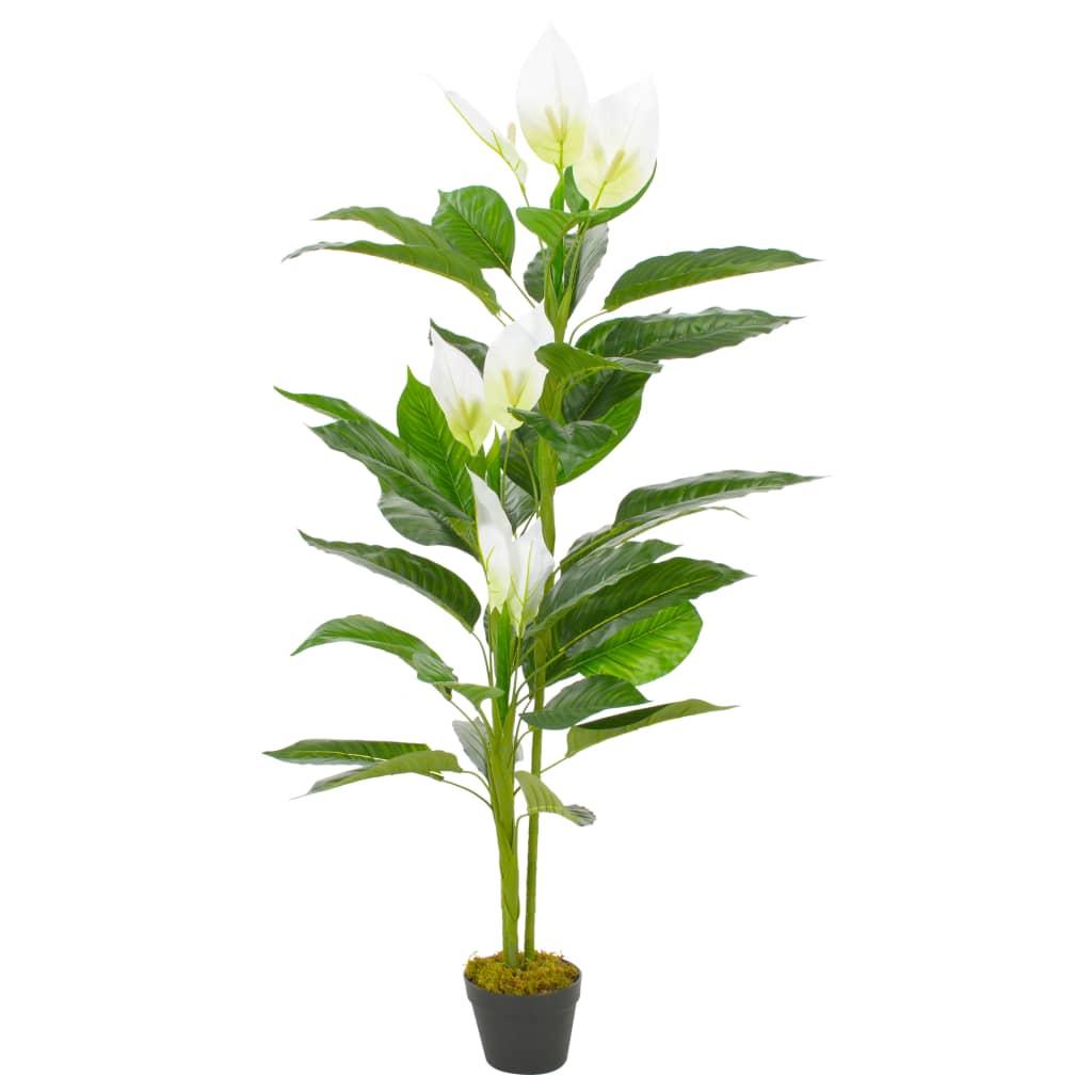Plante artificielle Anthurium 155cm Blanc