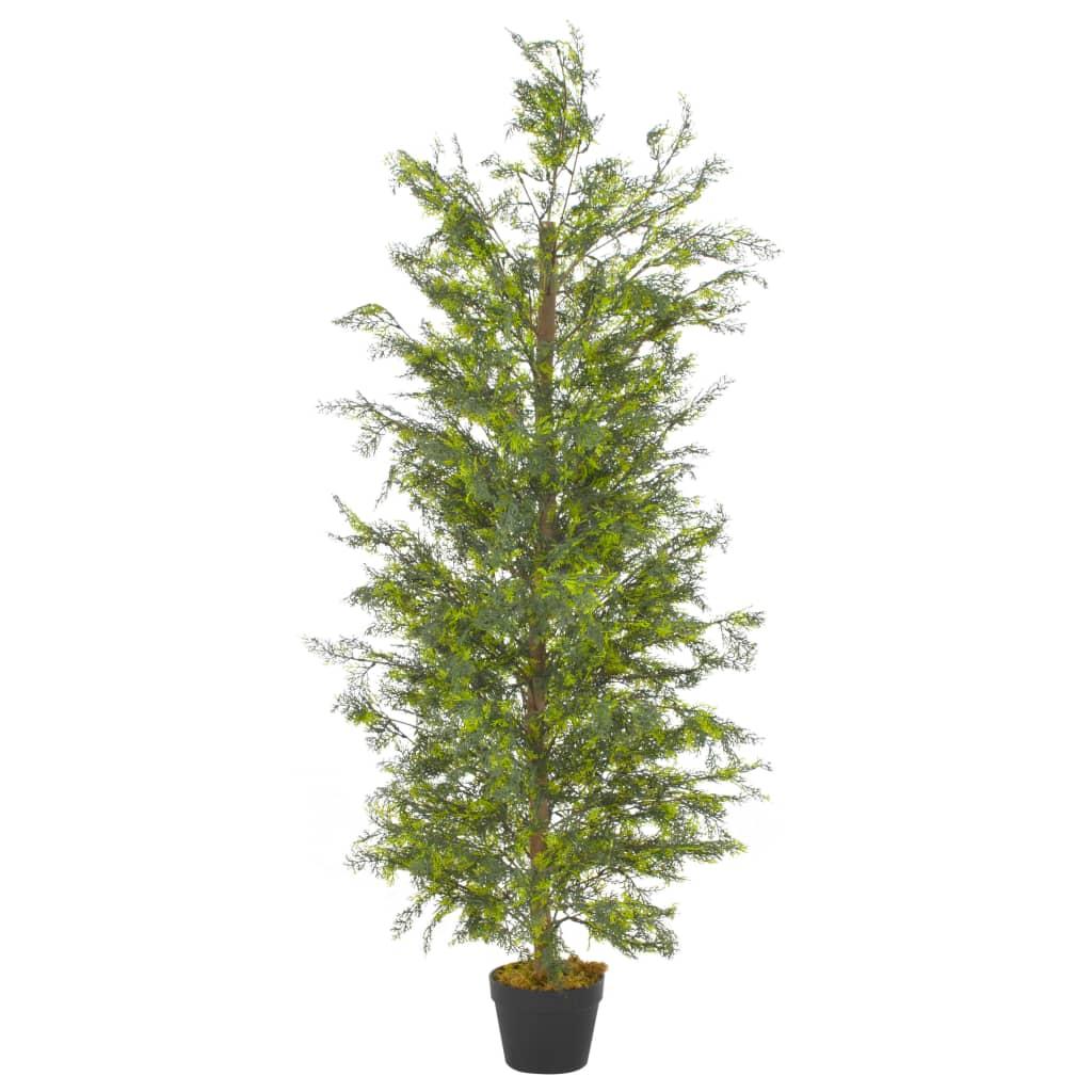 Plante artificielle Cyprès 150cm Vert