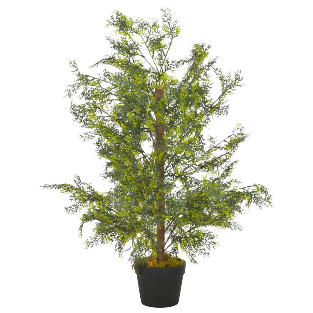 Plante artificielle Cyprès 90cm Vert