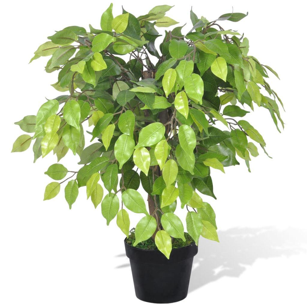 Plante artificielle Palmier 60cm Vert