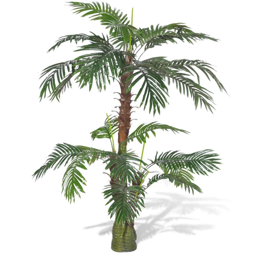 Plante artificielle Palmier cycus 150cm Vert