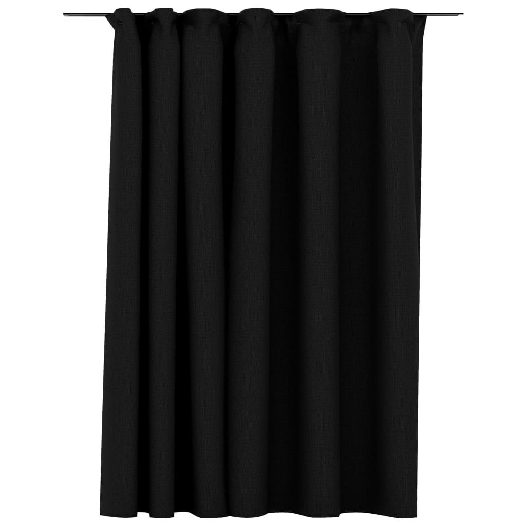 Rideau Blackout + Crochets 290x245cm Lin Anthracite
