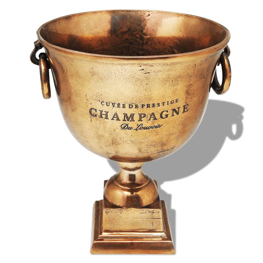 Seau à Champagne Trophée métal Bronze