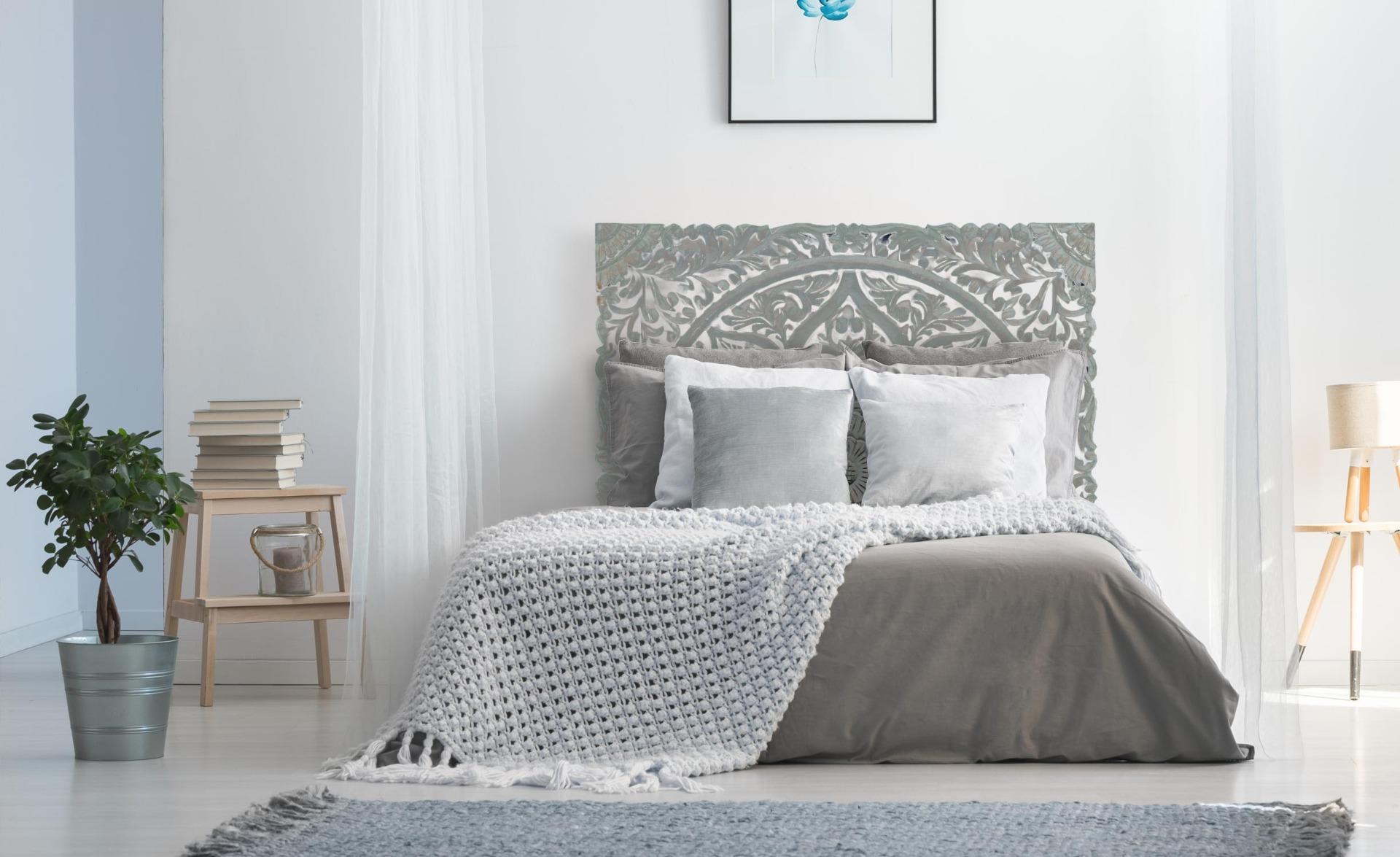 Tête de lit Serena 140cm Bois Vert