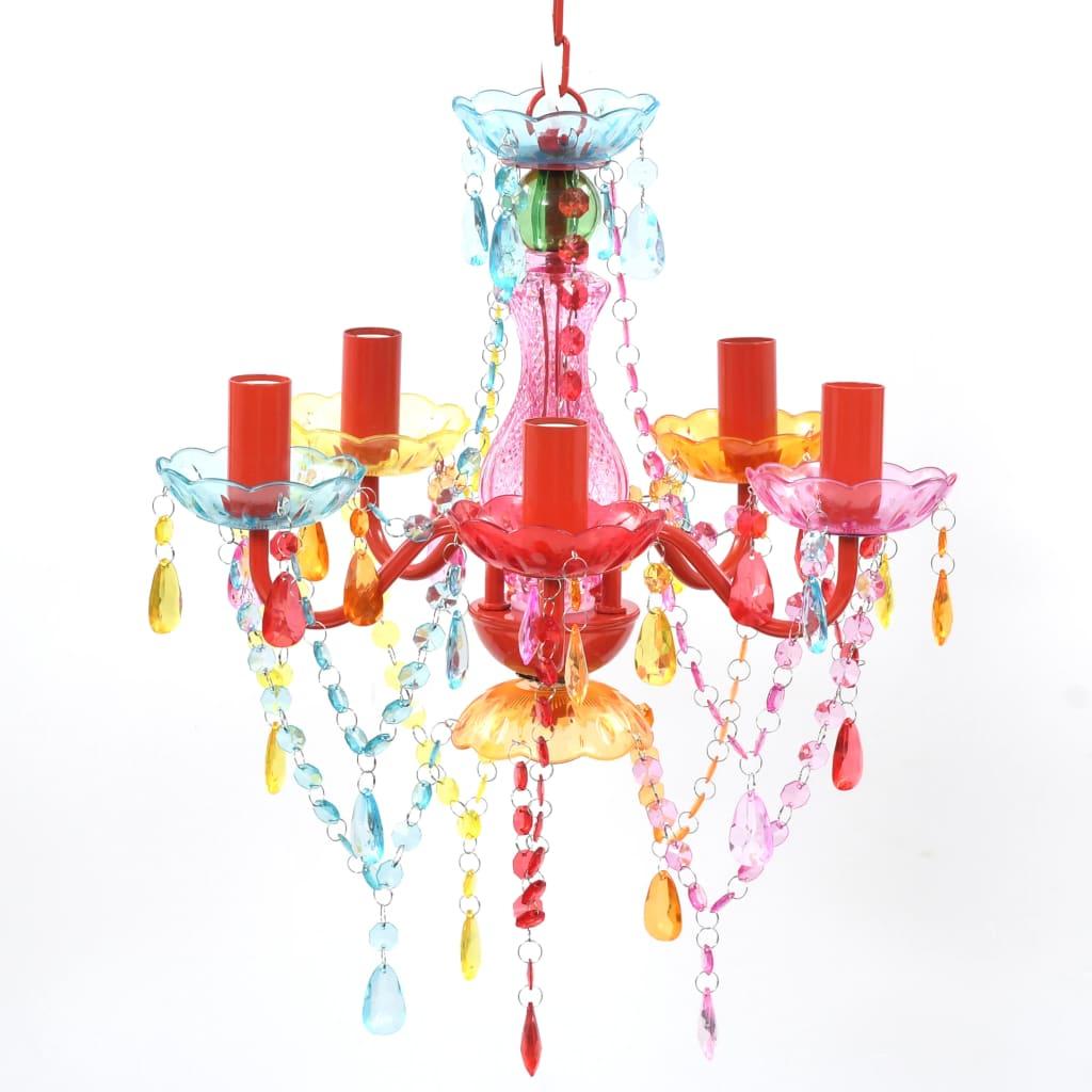 Suspension Lustre 5 lumières Tallaringa Multicolore