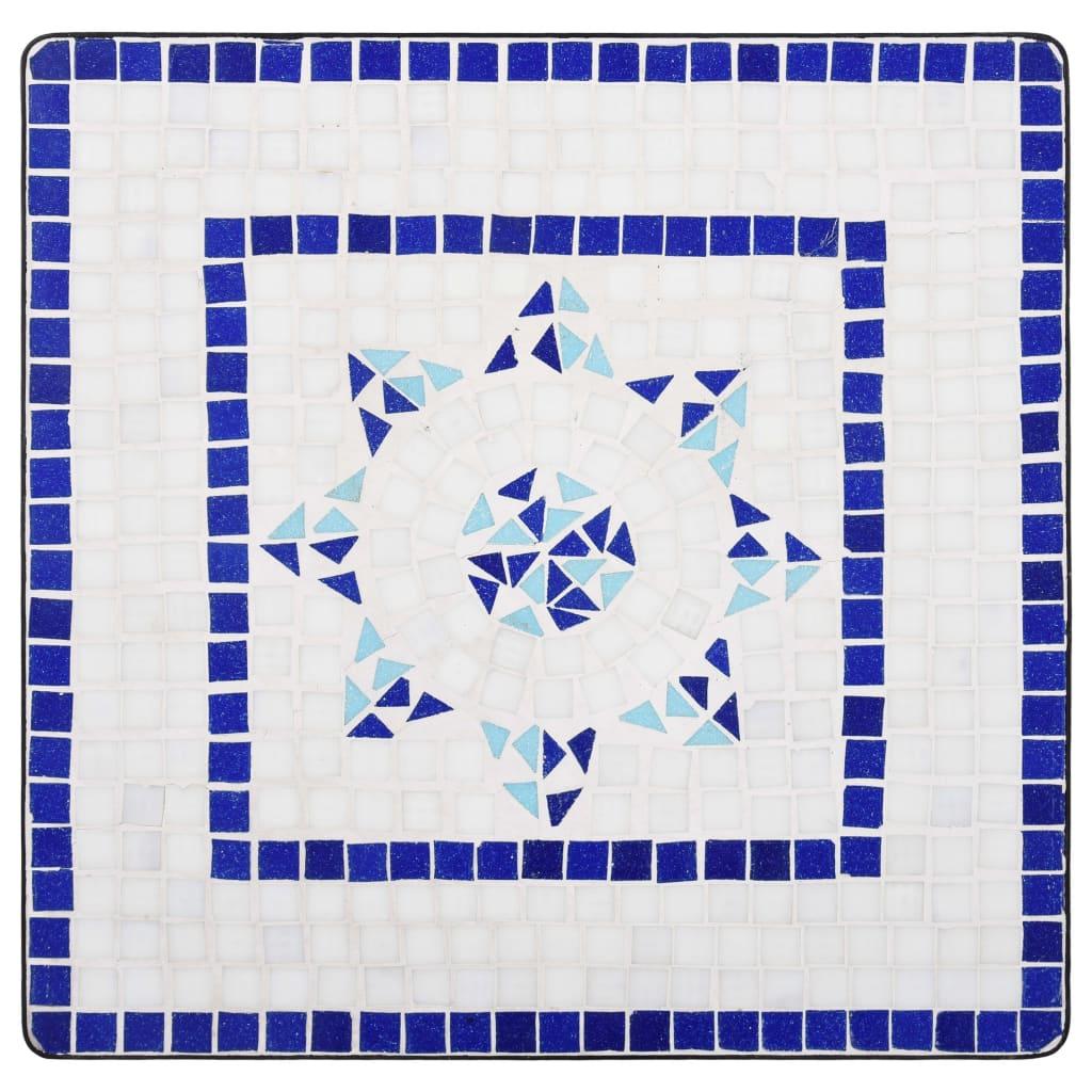 Table de jardin carré Lunaire D60 Céramique Multicolore