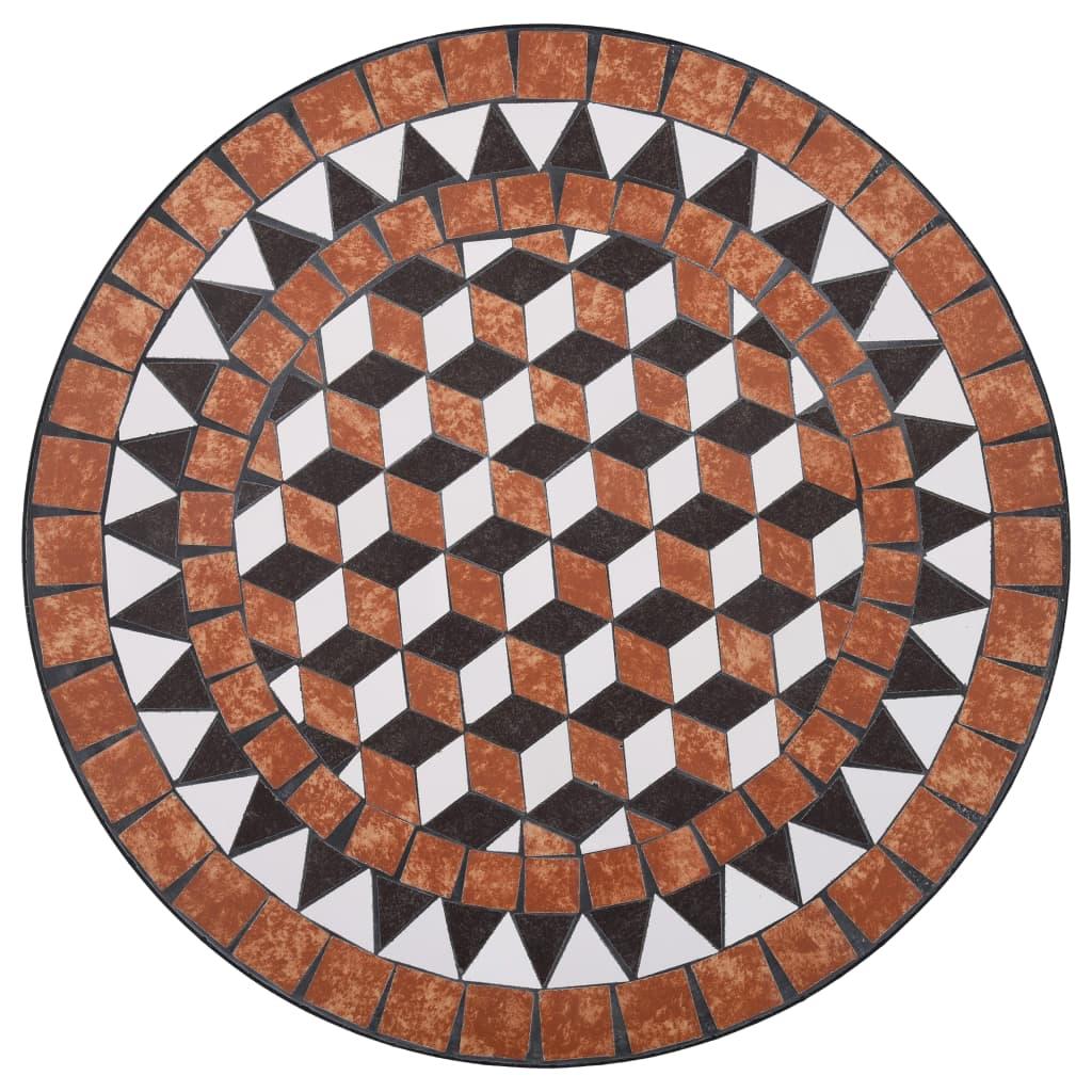 Table de jardin ronde Grémil D60 Céramique Multicolore
