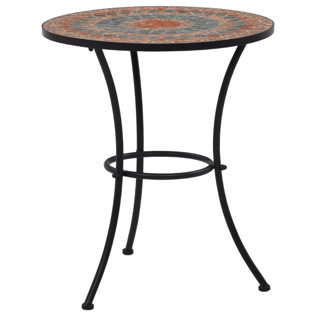 Table de jardin ronde Lunaire D60 Céramique Multicolore
