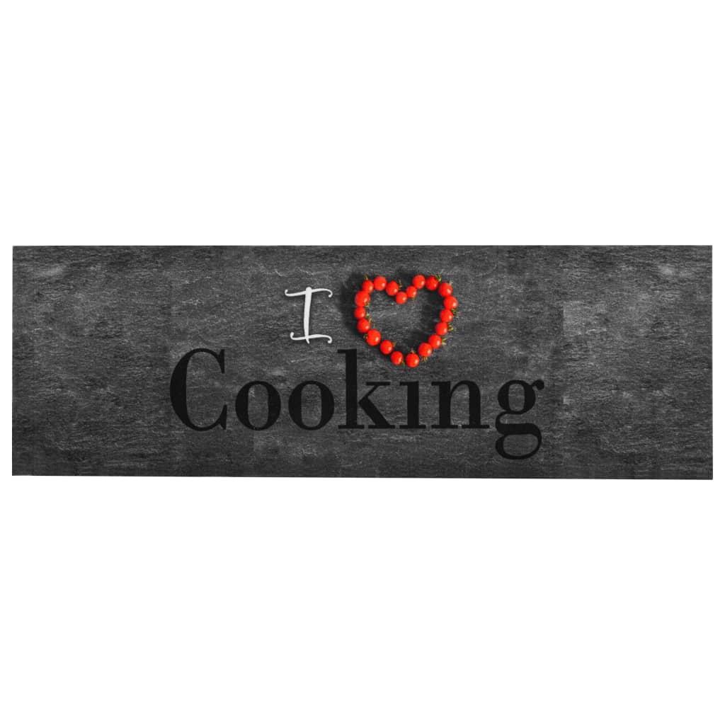 Tapis de cuisine Cooking 60x300cm Tissu Multicolore
