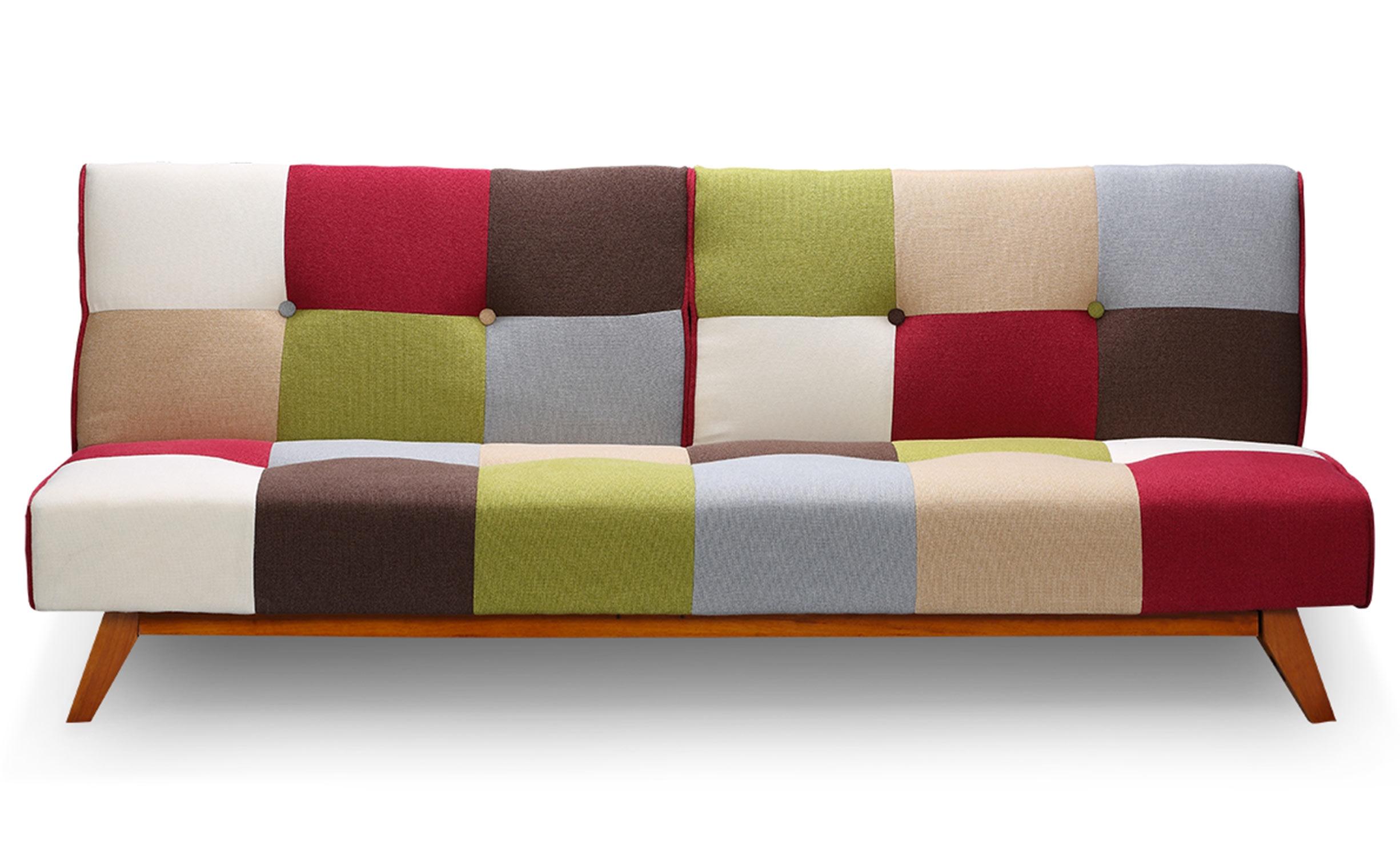 Canapé convertible clic-clac scandinave Yazu Multicolore