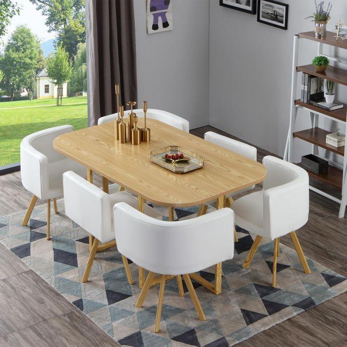 Aménager sa salle à manger avec une ambiance scandinave