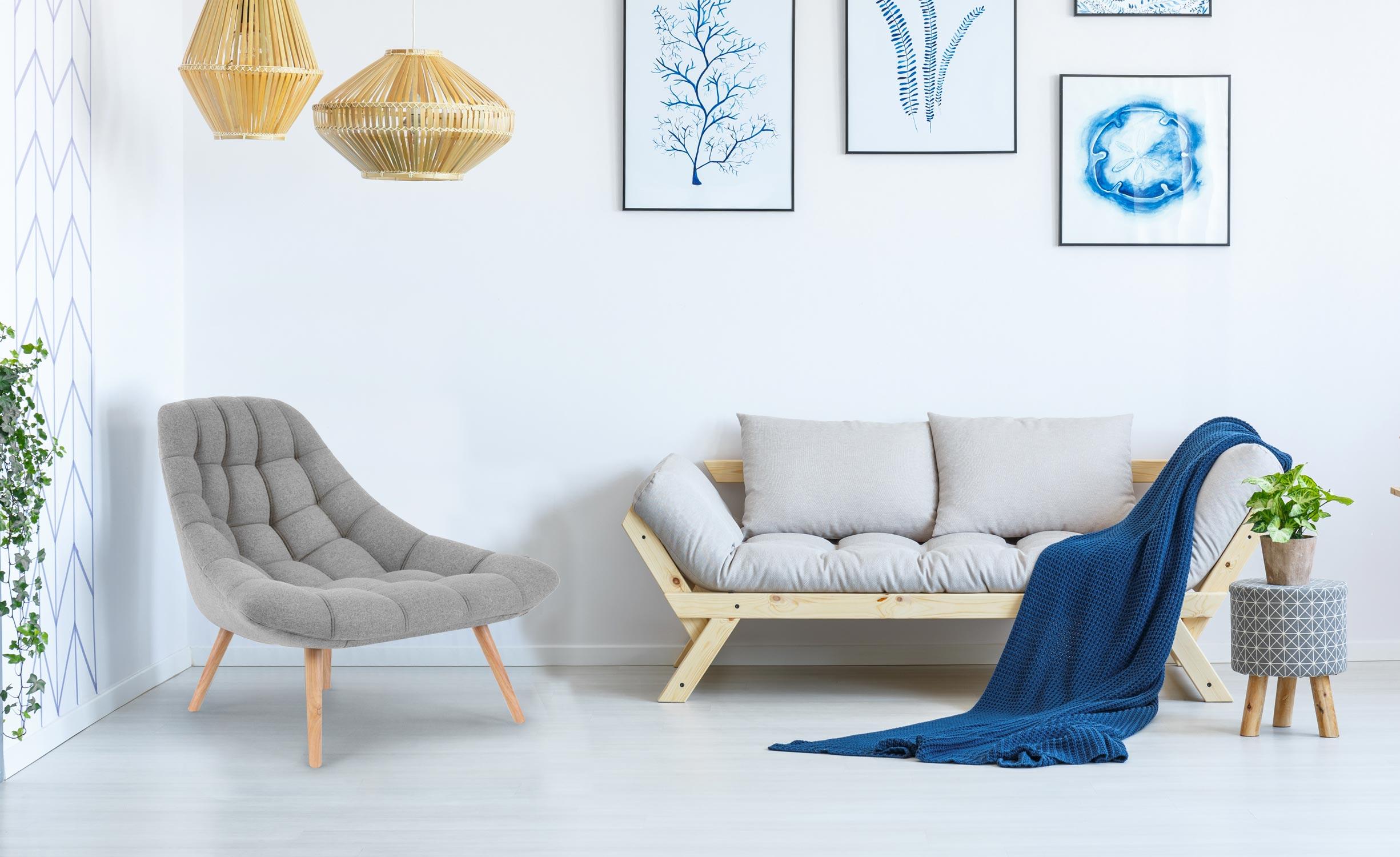 Le fauteuil scandinave, le pilier du bien-être à la maison