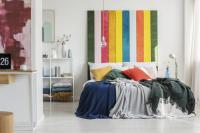 Comment peindre une tête de lit sur un mur ?